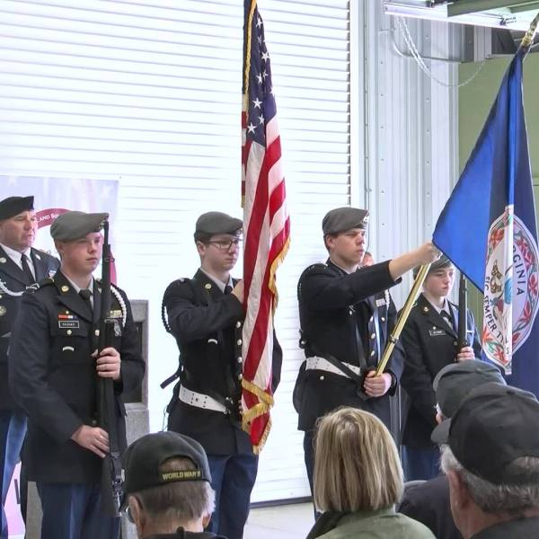 Web Extra: WFXR goes to Washington, DC with a local honor flight