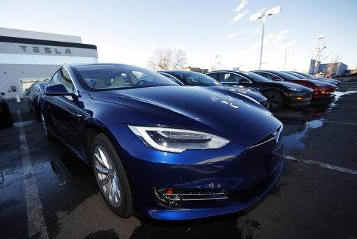 2019 Tesla S75D, r m