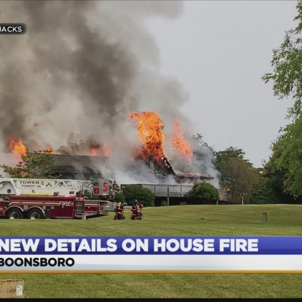 Home goes up in flames before family gets a chance to move in