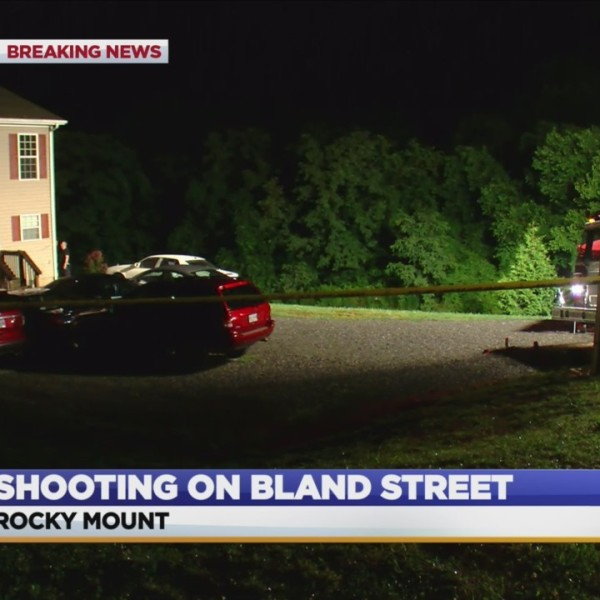 Shooting investigation in Rocky Mount