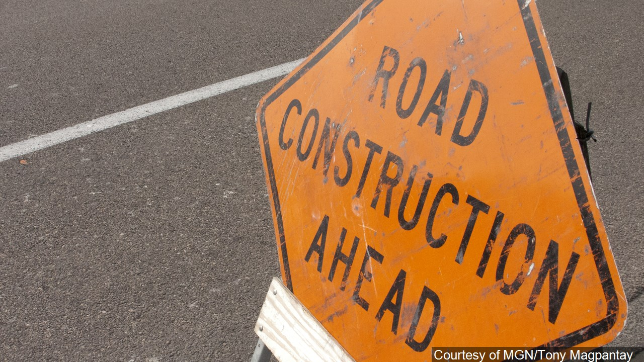 Milling and paving projects began today and another is set to start Tuesday in Danville.