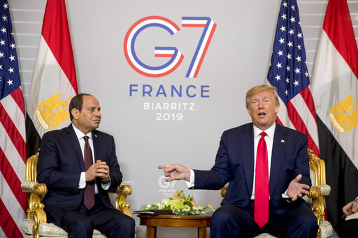 Donald Trump, Abdel Fattah al-Sisi