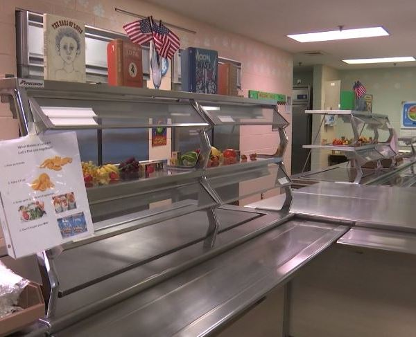 Bedford Elementary School cafeteria