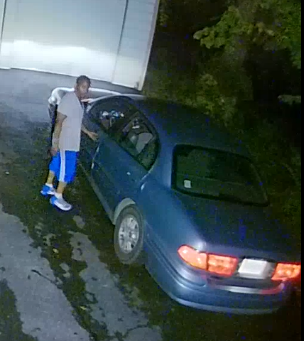 Lynchburg Police say this man attempted to enter a home garage in the 1600 block of Langhorne Road. (Photo: Courtesy Lynchburg Police Department)