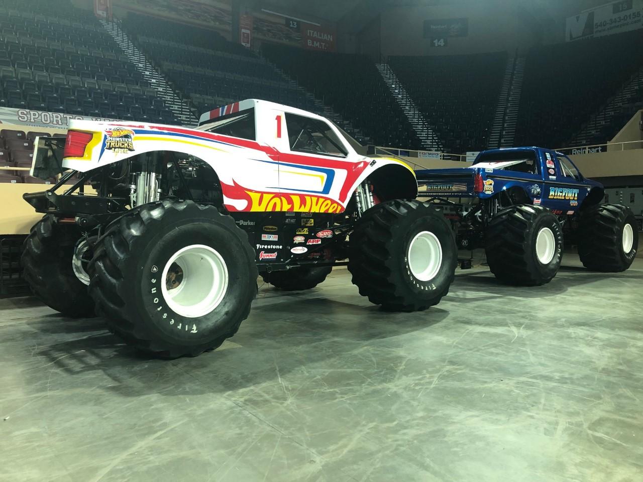 Berglund Center Hosting First Ever Hot Wheels Monster Trucks Live
