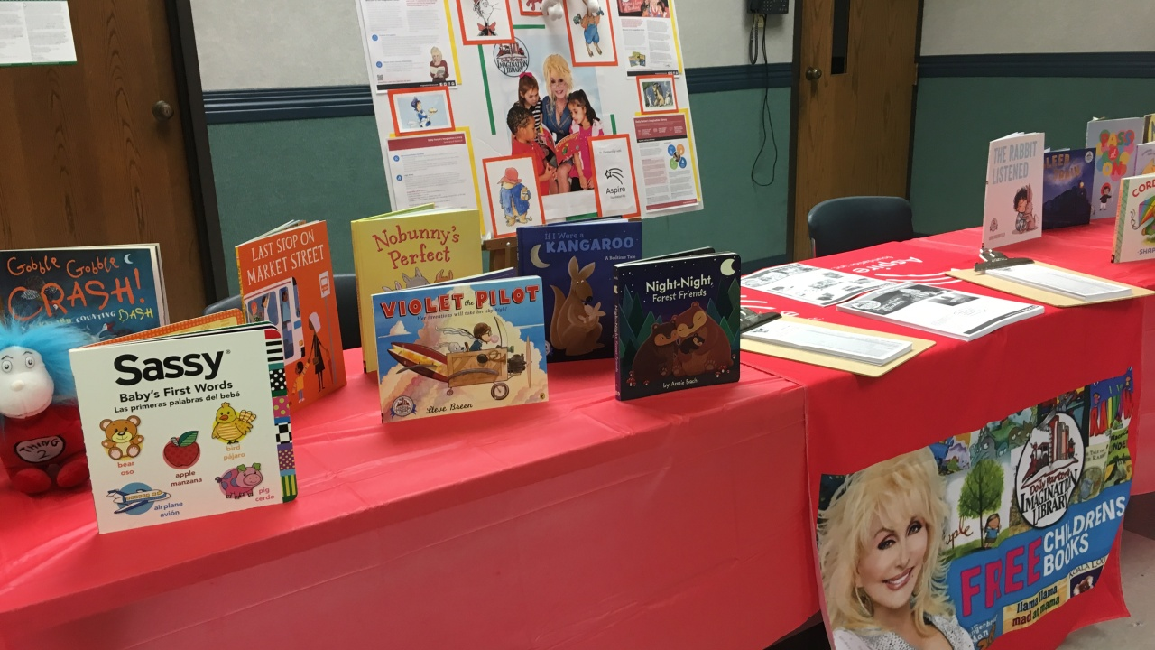 Dolly Parton's Imagination Library Comes to Lynchburg