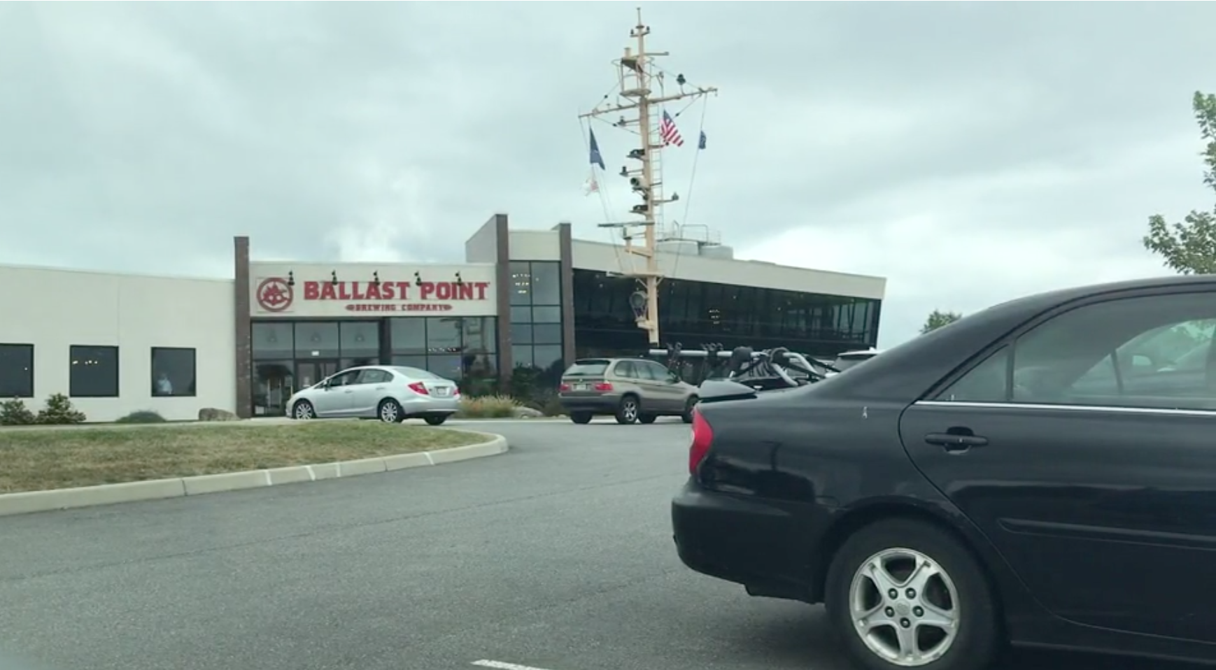 It was announced Tuesday, Sept. 10, that the Ballast Point Restaurant and Tasting Room in Daleville would close at the end of September. (Photo: Aaron Thompson/WFXR News)
