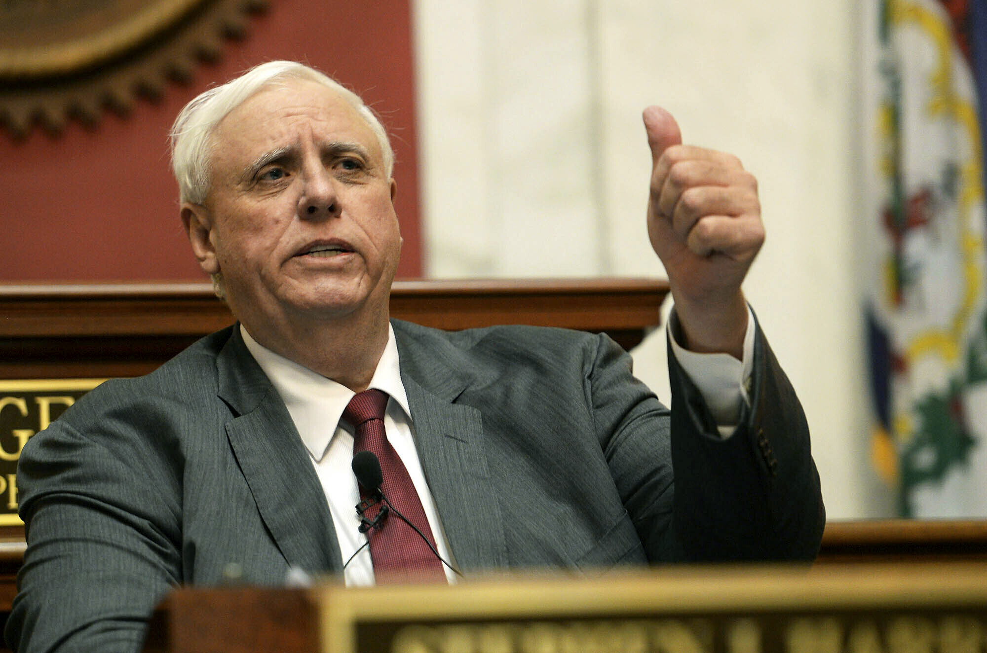 A farming business owned by the family of West Virginia's billionaire governor has received $125,000 in soybean and corn subsidies, the maximum allowed from a federal program meant to help American farmers through the U.S. trade war with China.