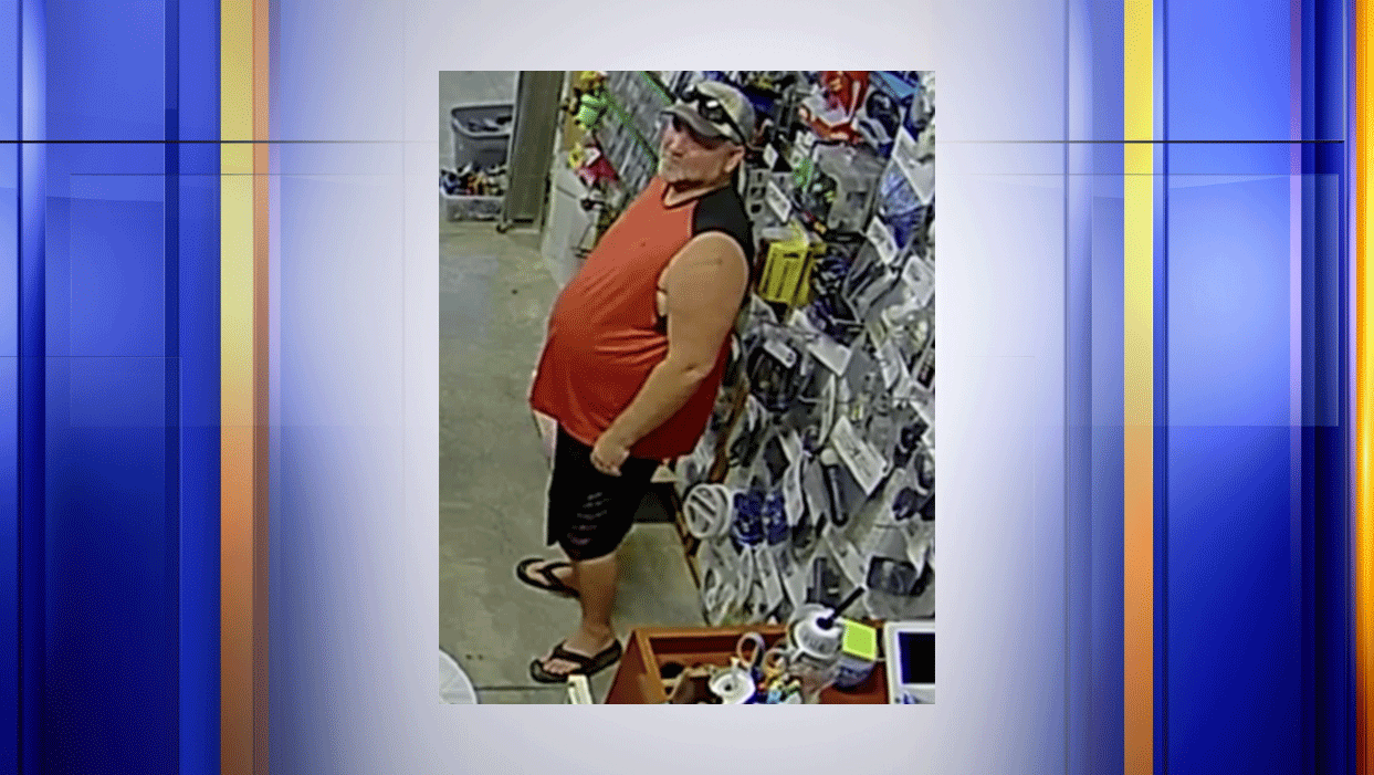 This man is wanted for larceny our of Campbell County. (Photo: Courtesy Campbell County Sheriff's Office)