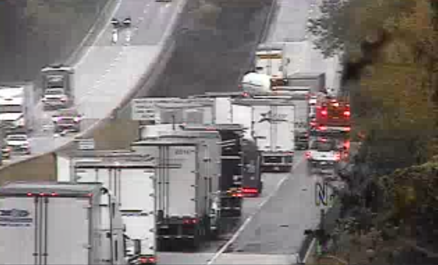 Motorists will find delays on I-81 due to an accident involving a tractor-trailer.