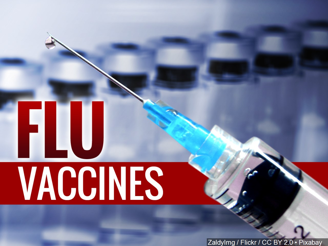 The flu season is here and medical providers encourage the public to get a flu shot as a preventative measure. (Photo: Courtesy MGN)