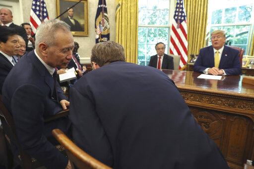 Donald Trump, Liu He, Robert Lighthizer