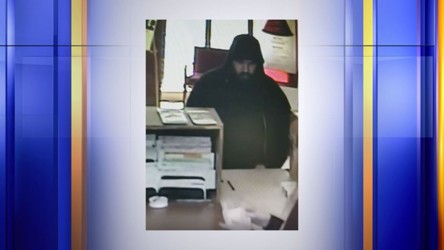 Do you recognize this man? Pulaski Police are looking for him after he allegedly robbed a local BB&T Bank. (Photo: Courtesy Pulaski Police Department)