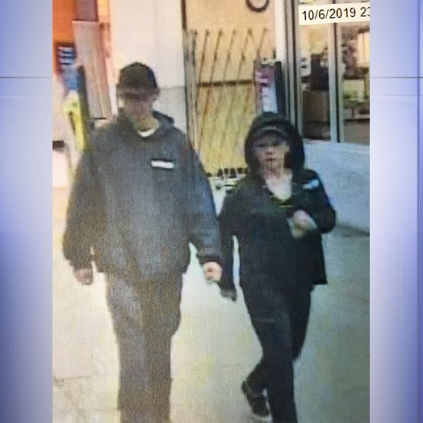 Do you know this couple? Roanoke County Police would like to question them about a residential burglary. (Photo: Courtesy Roanoke County Police)