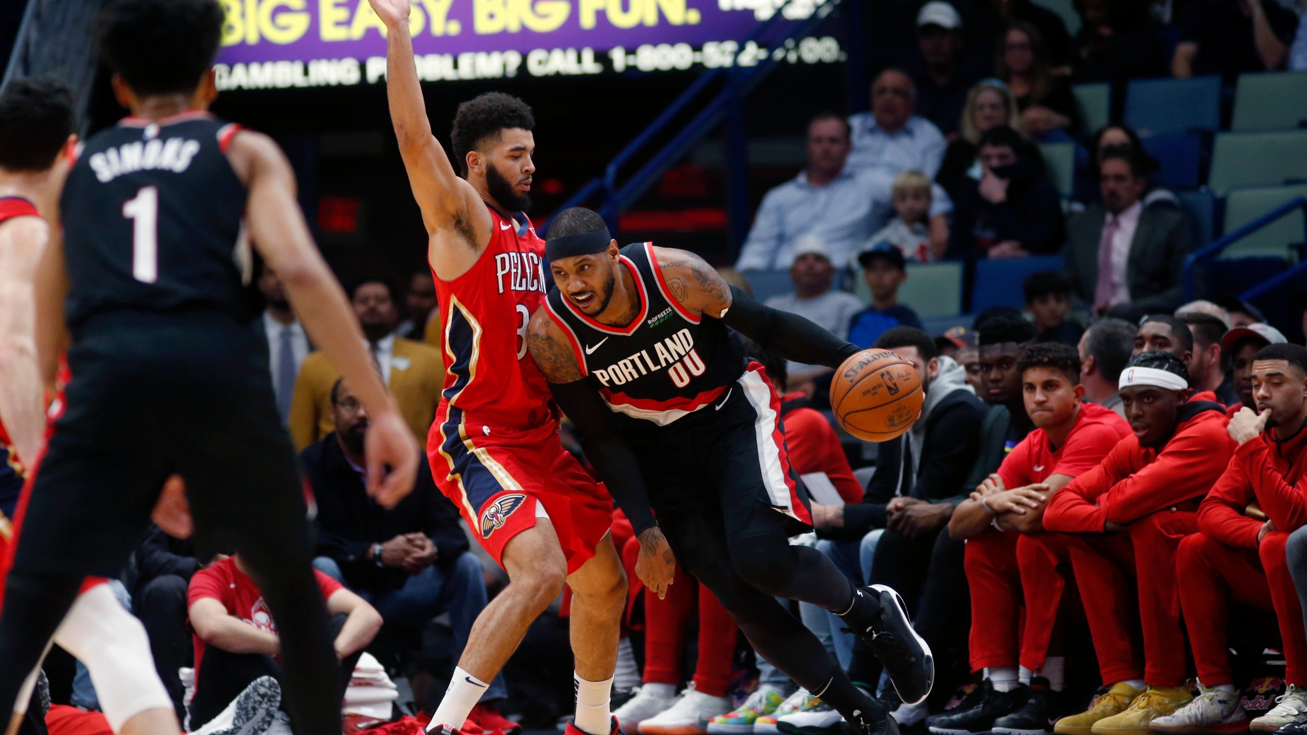Image result for josh hart pelicans usa today