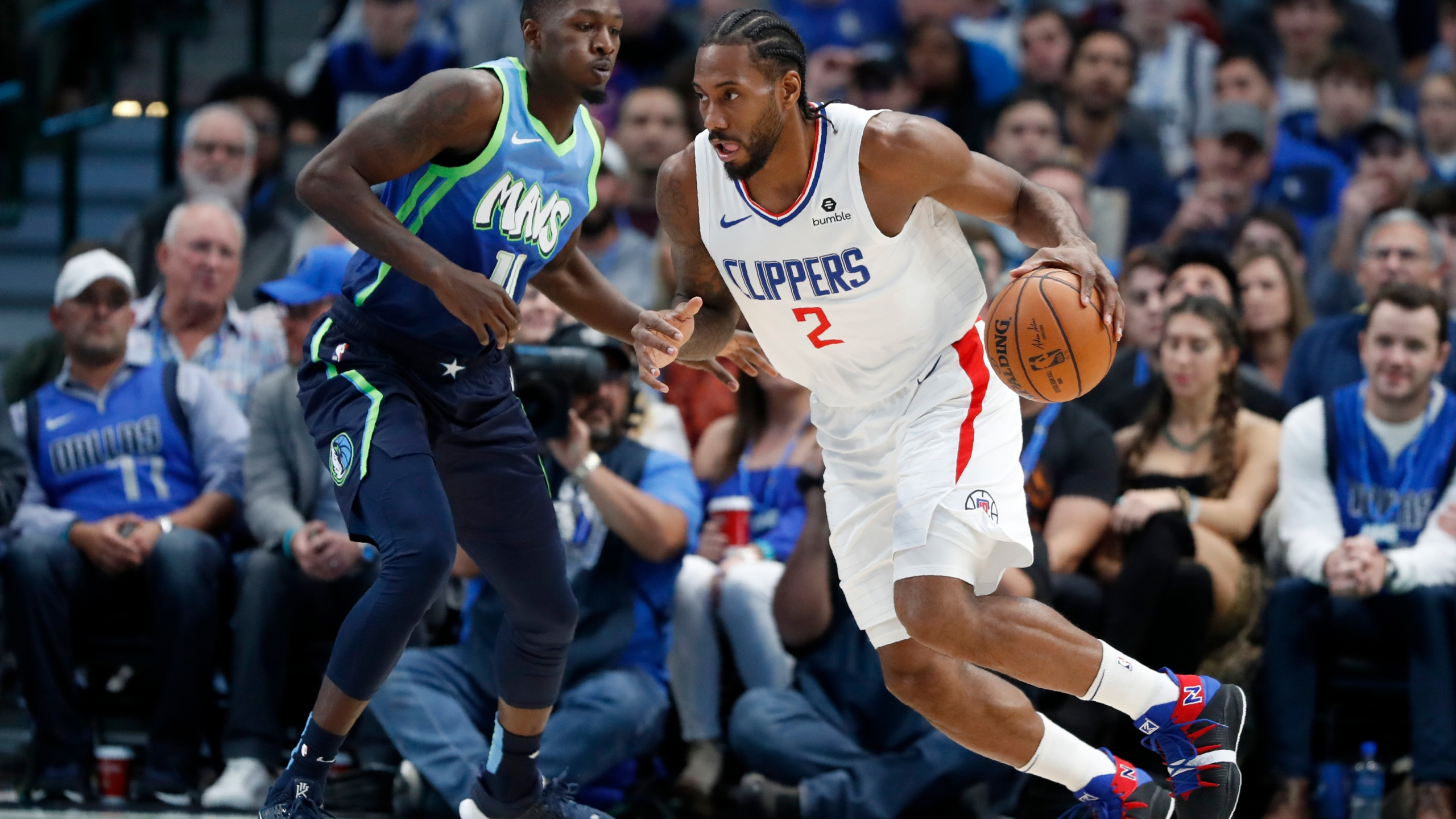 Clippers Ease Past Mavs 114 99 In Matchup Of 5 Win Streaks