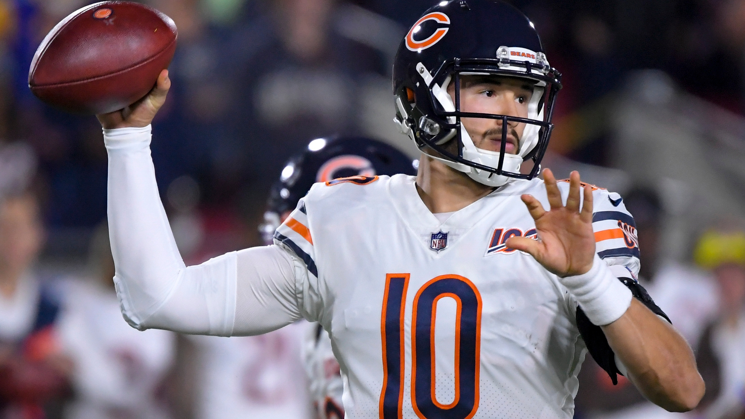 Trubisky Hurts Hip Pulled In Bears 17 7 Loss To Rams