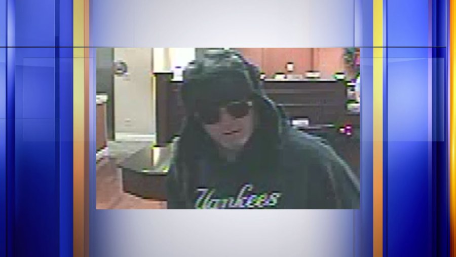 Roanoke Police say this man robbed a bank in the 1300 block of Grandin Road SW on Monday, Nov. 18. (Photo: Roanoke Police Department)