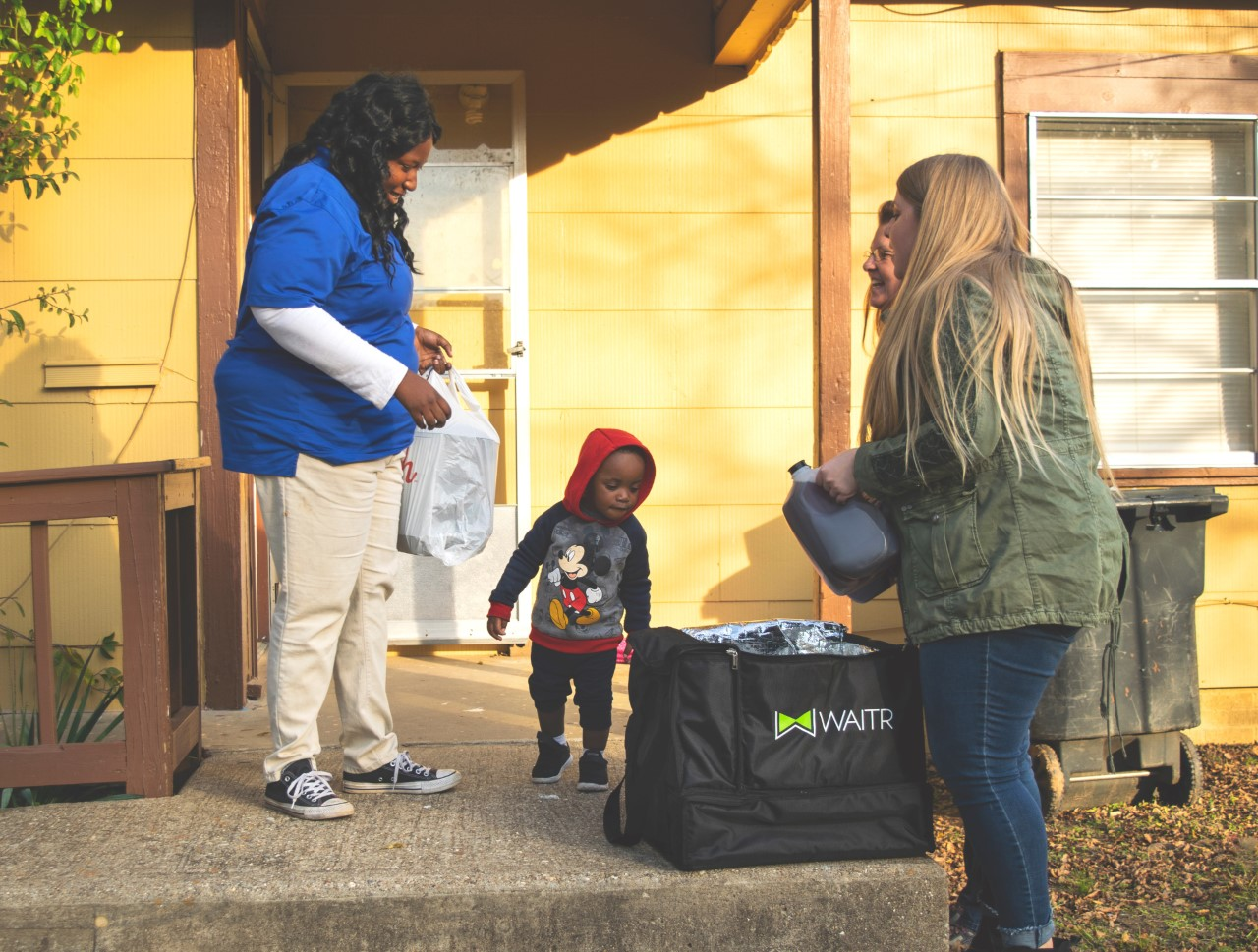 A local food delivery app will deliver Thanksgiving meals to families in need in Lynchburg today. (Photo: Courtesy Waitr)