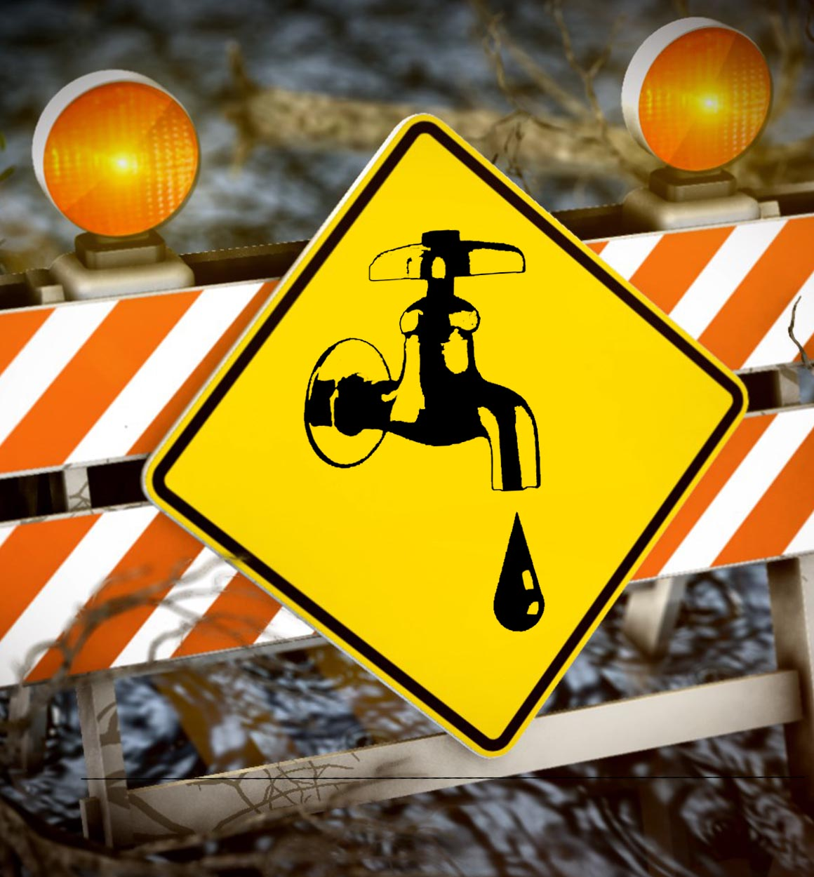 Western Virginia Water Authority crews are on the scene of a water line break which has impacted homes and traffic on portions of Liberty Road.