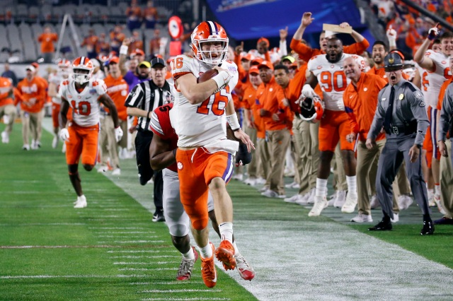 Clutch Clemson No 3 Tigers Beat No 2 Ohio State 29 23