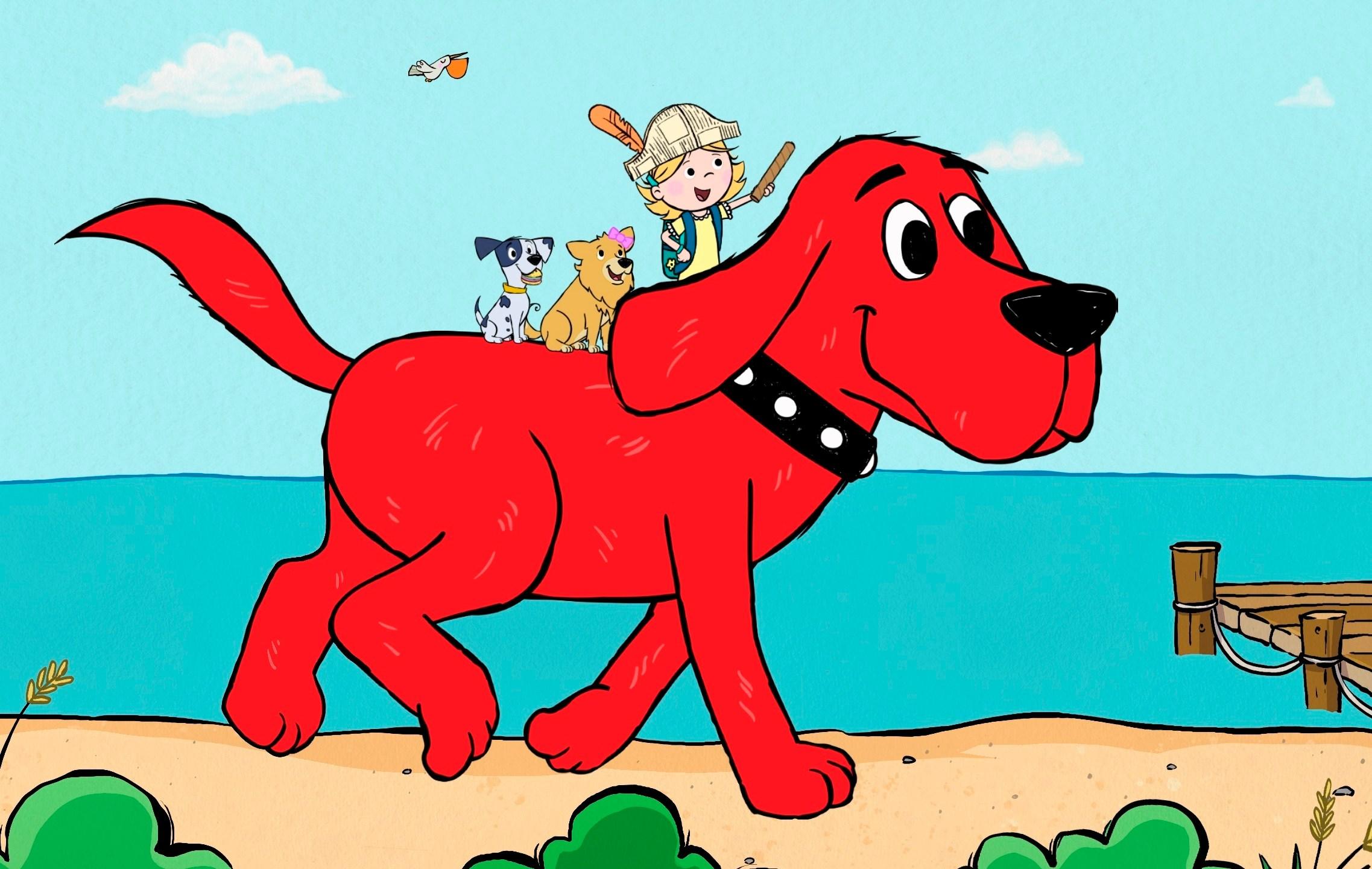 Groovy Clifford Everybodys Favorite Big Red Dog Gets A Reboot Machost Co Dining Chair Design Ideas Machostcouk
