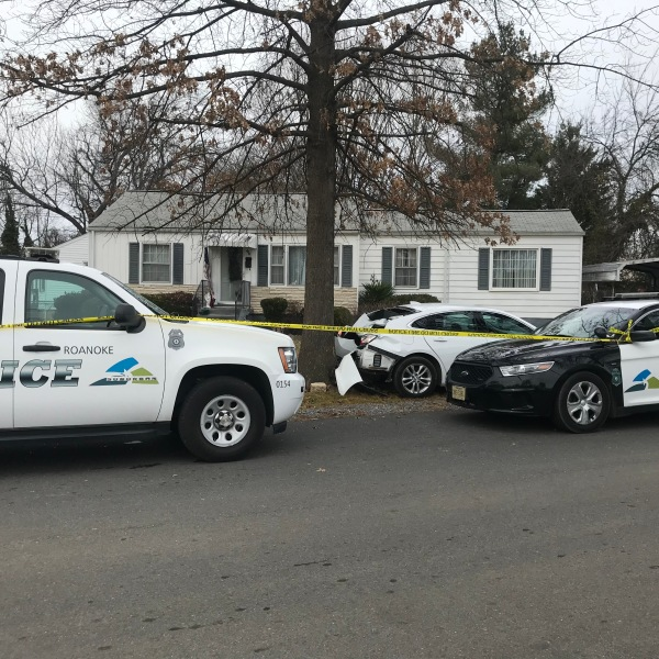 Roanoke Police received a call about shots fired on Sunday afternoon.