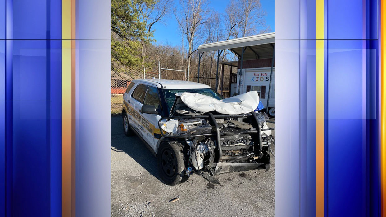An Alleghany County deputy and another driver were transported to the hospital due to a two-vehicle crash on Dec. 17 at 10:30 p.m.