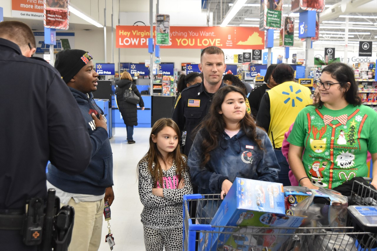 Police officers and kids spent time together this holiday season during the Cops and Kids event earlier this month in Martinsville.