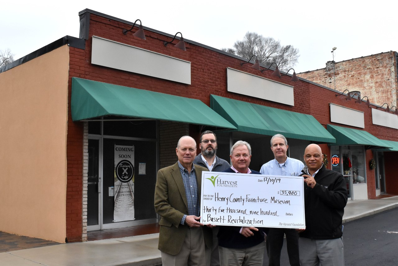 A Harvest Grant award will support building upgrades to make room for a cafe or sandwich shop in Bassett.