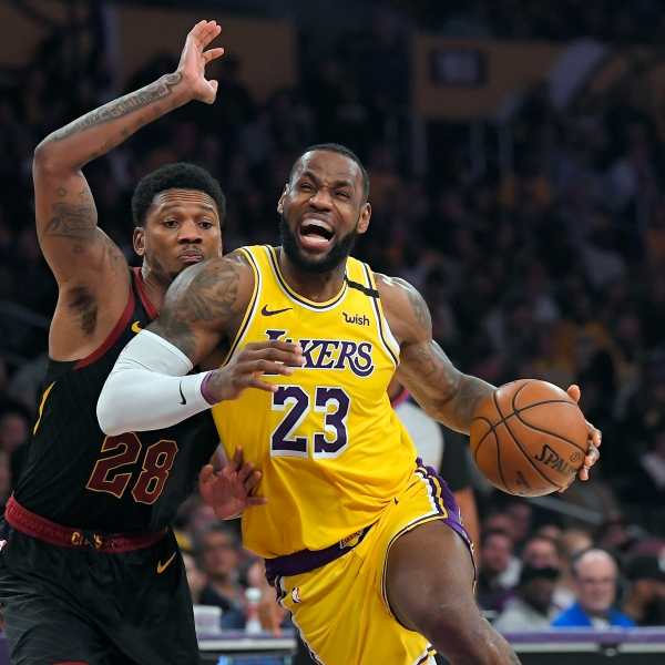 LeBron James, Alfonzo McKinnie