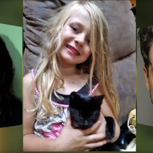 (L to R) Kimberly Moore, 3-year-old Josie Burleson and Adrian Puckett. (File photos.)