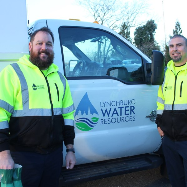 (Photo: Courtesy City of Lynchburg Water Resources Department)