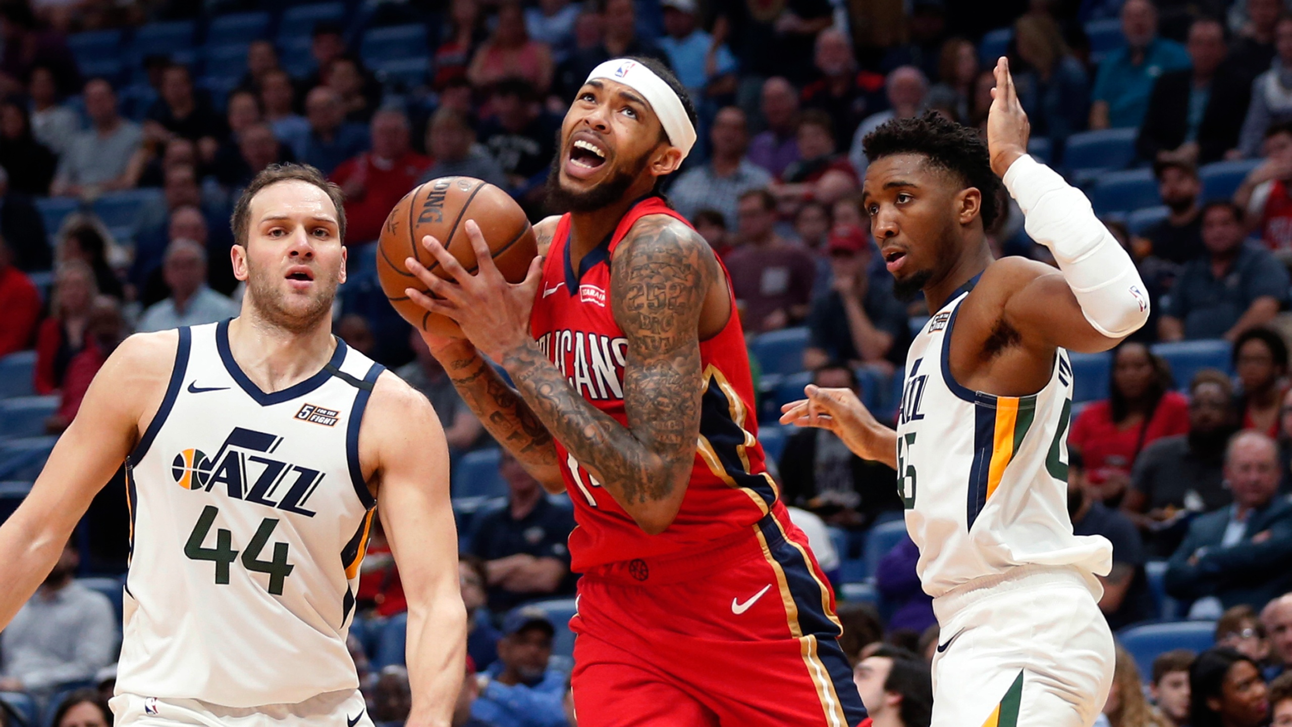 Ingram Scores 49 Pelicans End Jazz S 10 Game Winning Streak