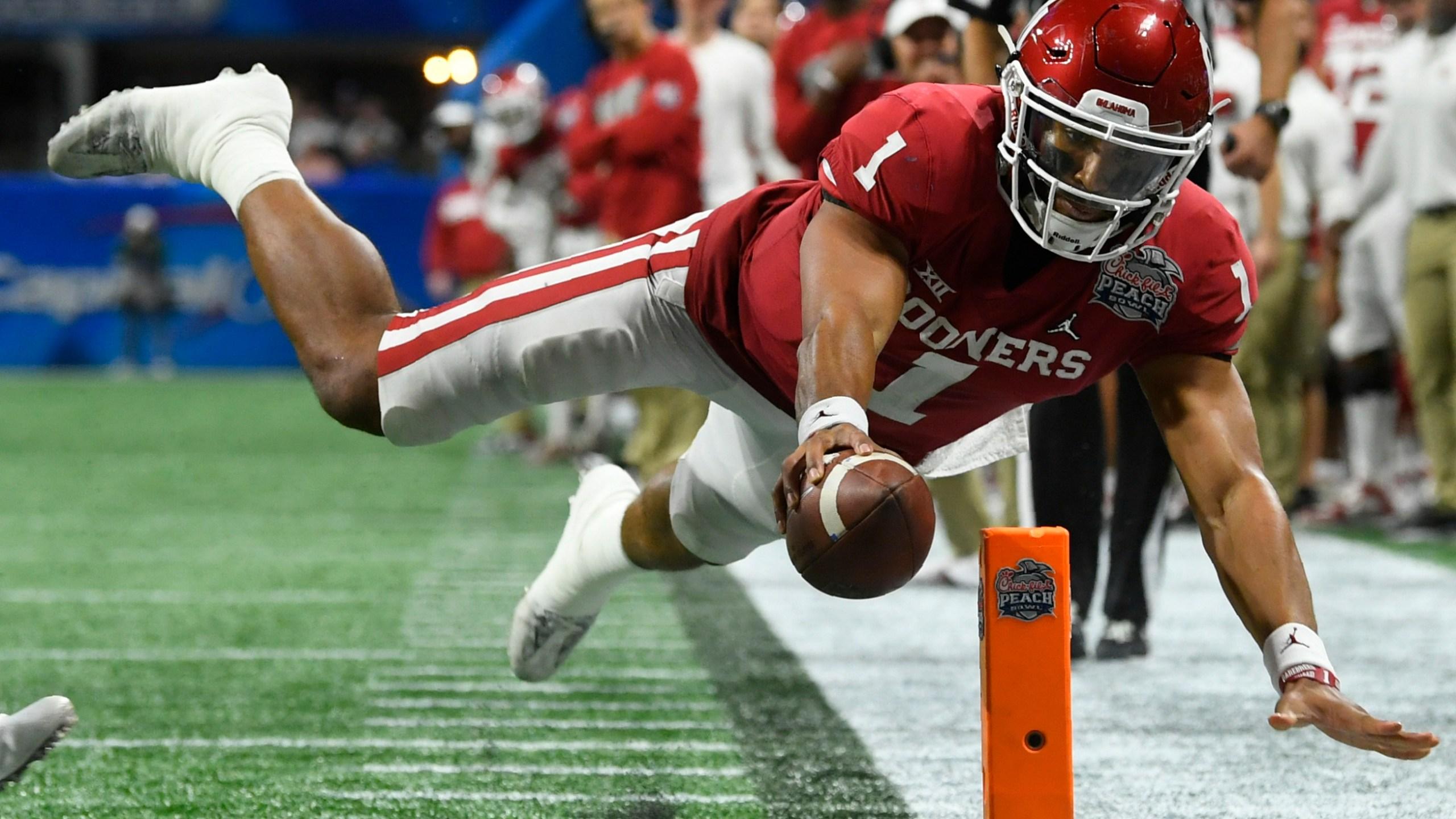 Jalen Hurts eyes NFL, with 'boulder