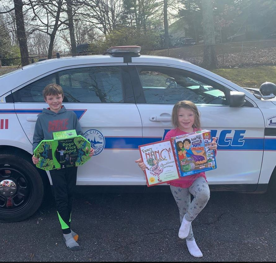 With the recent tensions in the Middle East, Lynchburg Police pause to think of a fellow officer and his family who has been deployed in the area since September.