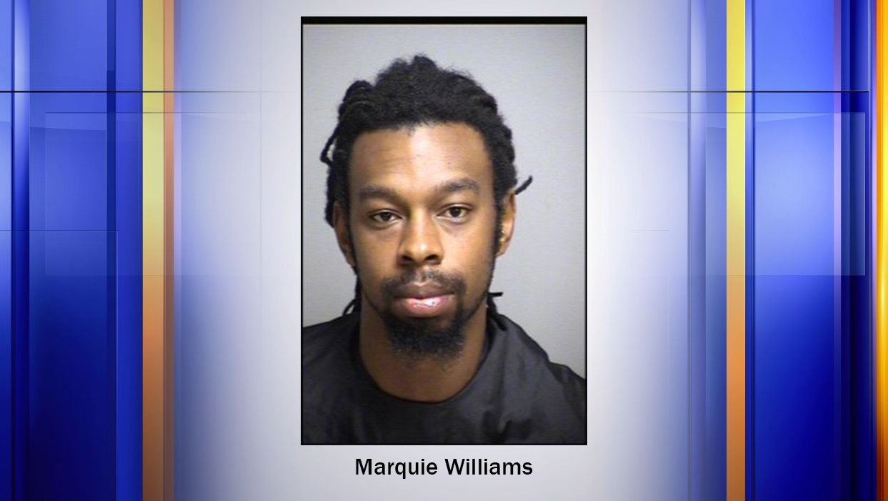 Marquie Williams who pled guilty to first-degree murder of a 22-year-old woman was sentenced to life in prison today.