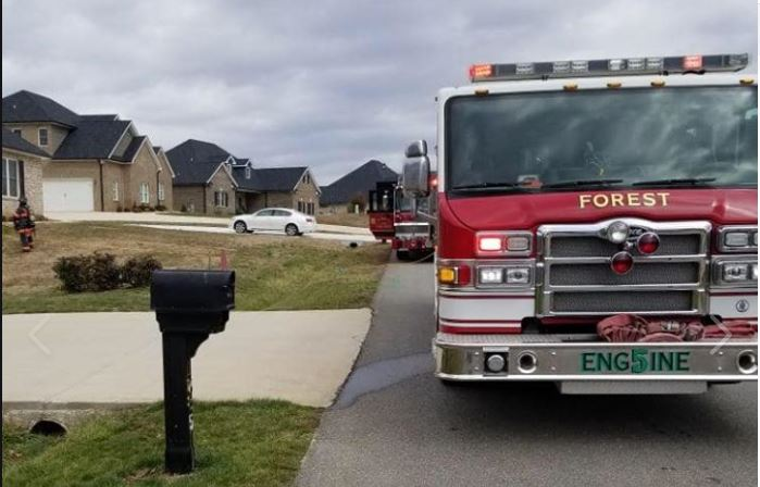 First responders were dispatched to a fire alarm on Colby Drive on Friday, Feb. 28 and found carbon monoxide inside. (Photo: Courtesy Forest Volunteer Fire Department)