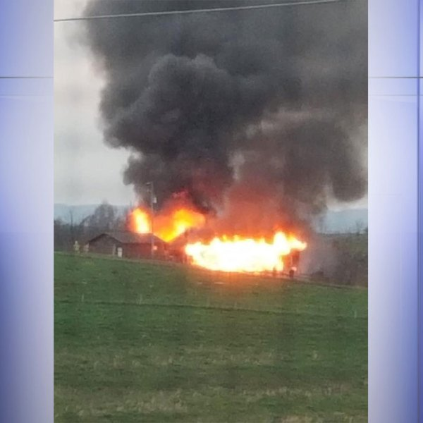 Firefighters and medics responded to a house fire on Lyons Road in Pulaski County on Friday, March 27. (Photo: Courtesy Tember Long Eads)