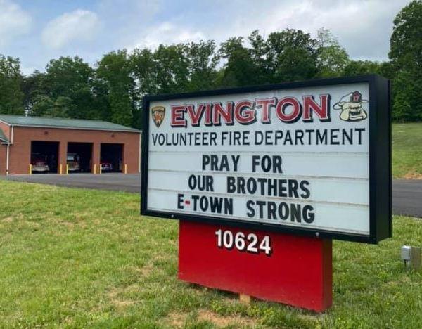 (Photo: Courtesy Evington Volunteer Fire Department)