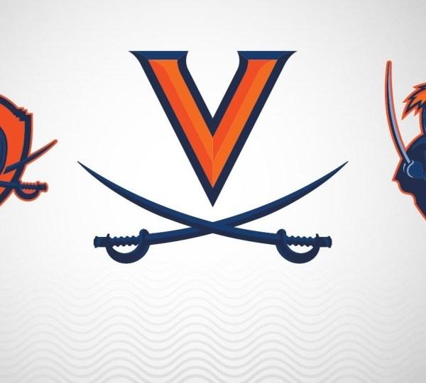 (Cavalier Shield Logo: Courtesy UVA Athletics via WRIC)