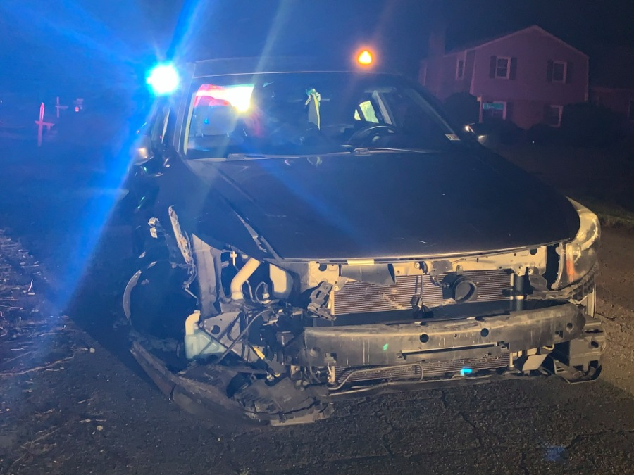 Chesterfield County Police say a drunken driver is in custody after attempting to elude police following a hit-and-run incident. (Photo: Chesterfield County Police Department via WRIC)