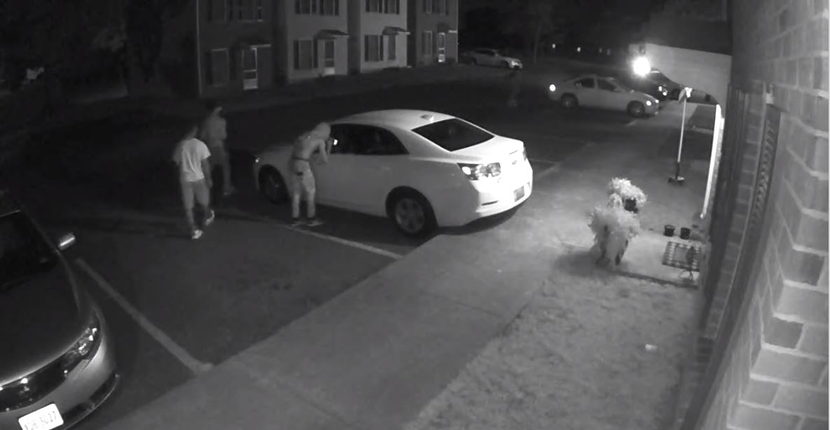 These individuals were filmed by a home security in Altavista at approximately 4:30 a.m. on Thursday, July 16, according to police. (Photo: Courtesy Altavista Police Department)