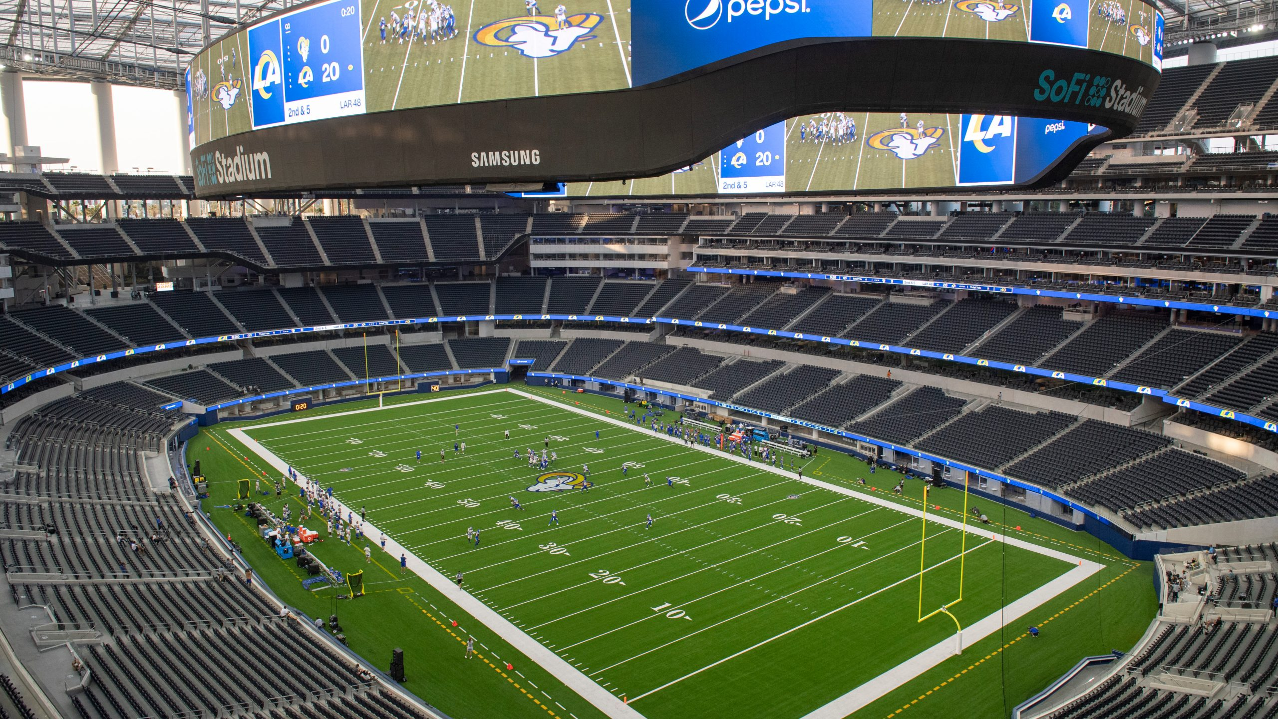 Palace Preview Rams Marvel At 1st Trip To New Sofi Stadium Wfxrtv