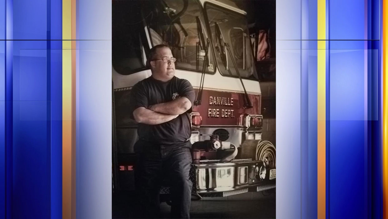 The Danville Fire Department says Engineer Greg Thomas passed away on Saturday, Aug. 26 after more than 26 years with the department. (Photo: Courtesy Bobby Carlsen via Danville Fire Department)