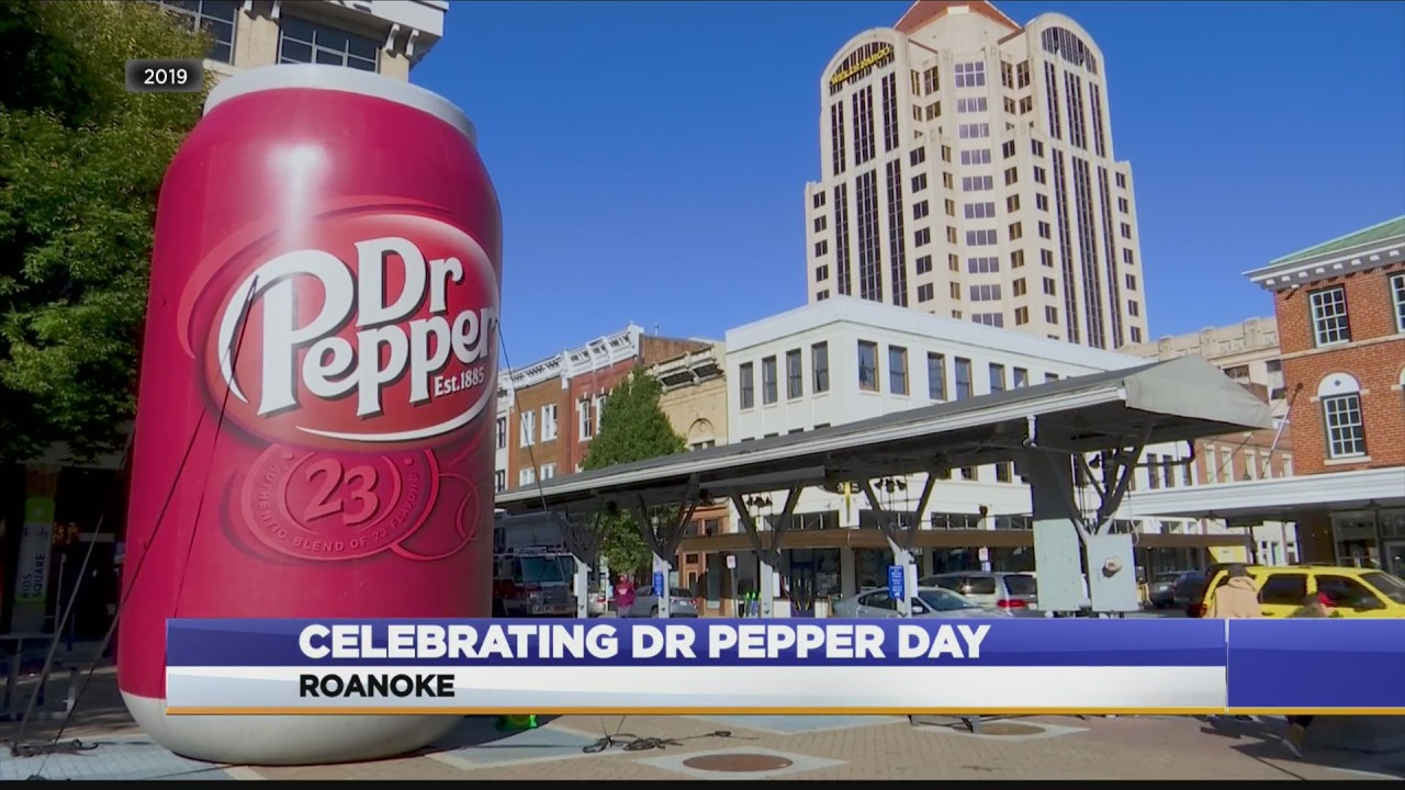 Roanoke to hold Saturday celebration in honor of 'Dr Pepper Day'