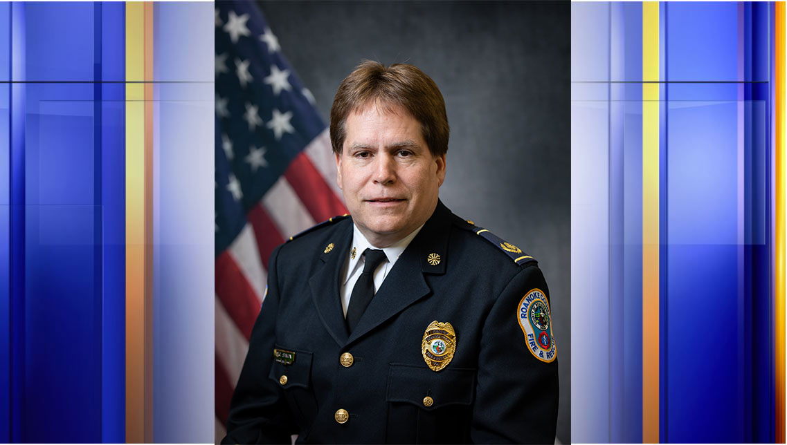 Officials say Roanoke County's Fire and Rescue Chief Stephen G. Simon will be retiring on March 1, 2021. (Photo: Courtesy Roanoke County Fire and Rescue Department)