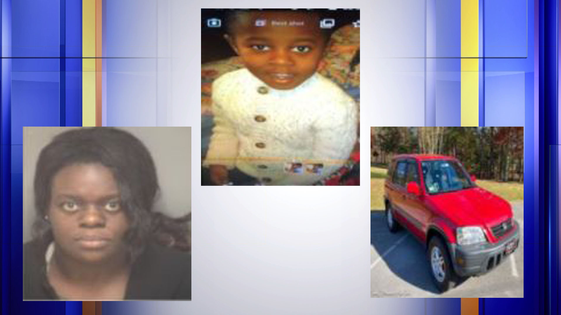 Police are searching for five-year-old Bricen Kent Mwanawabene, who was last seen in Charlottesville. Authorities believe the boy was abducted at 7:30 p.m. on Jan. 17, 2021 by 43-year-old Kerlie Johnson Gage, who may be traveling in a red 1997 Honda CRV with Virginia license UMM-2229. (Photos: Courtesy Virginia State Police)