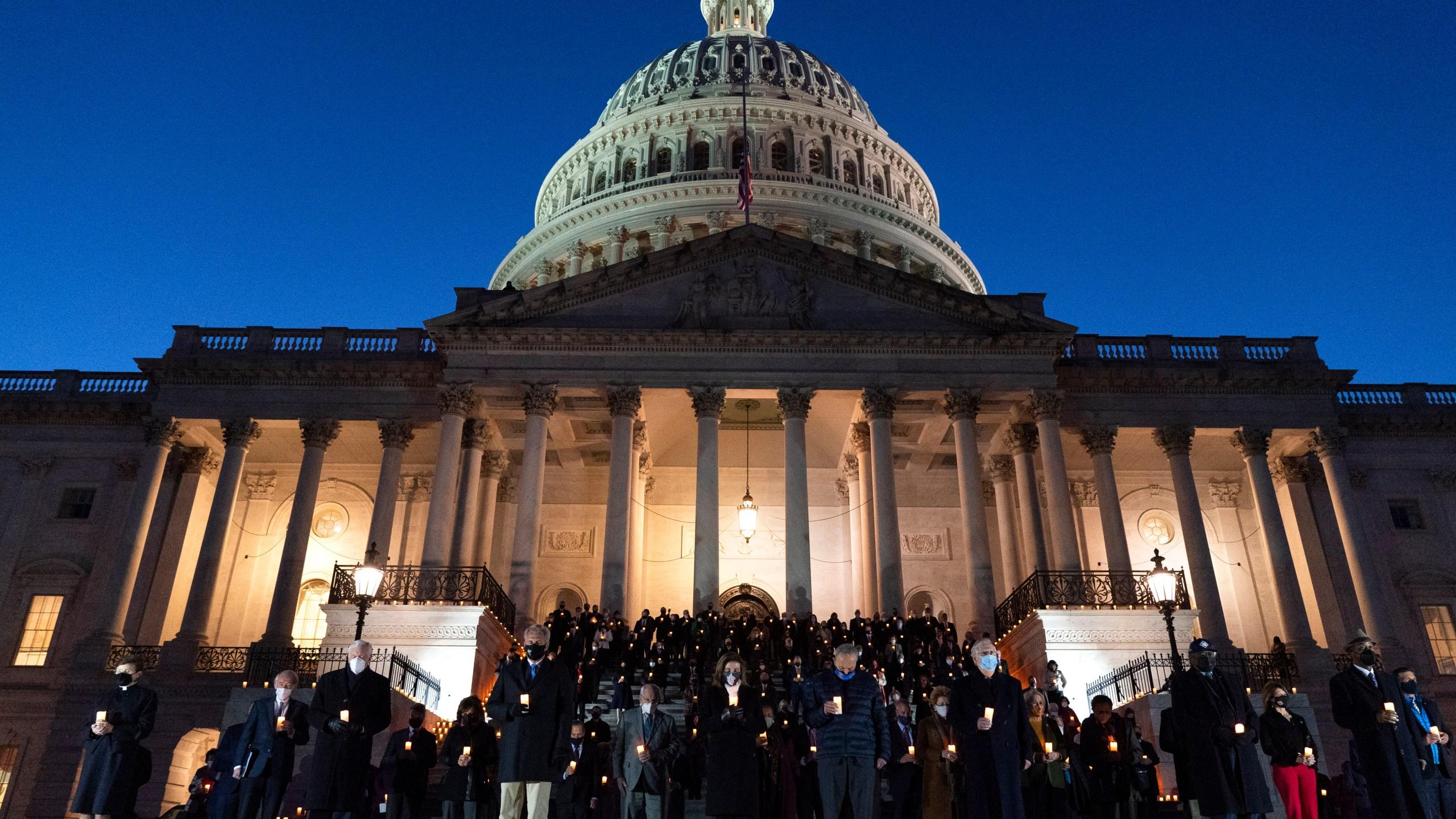 Nancy Pelosi, Mitch McConnell, Chuck Schumer, Kevin McCarthy