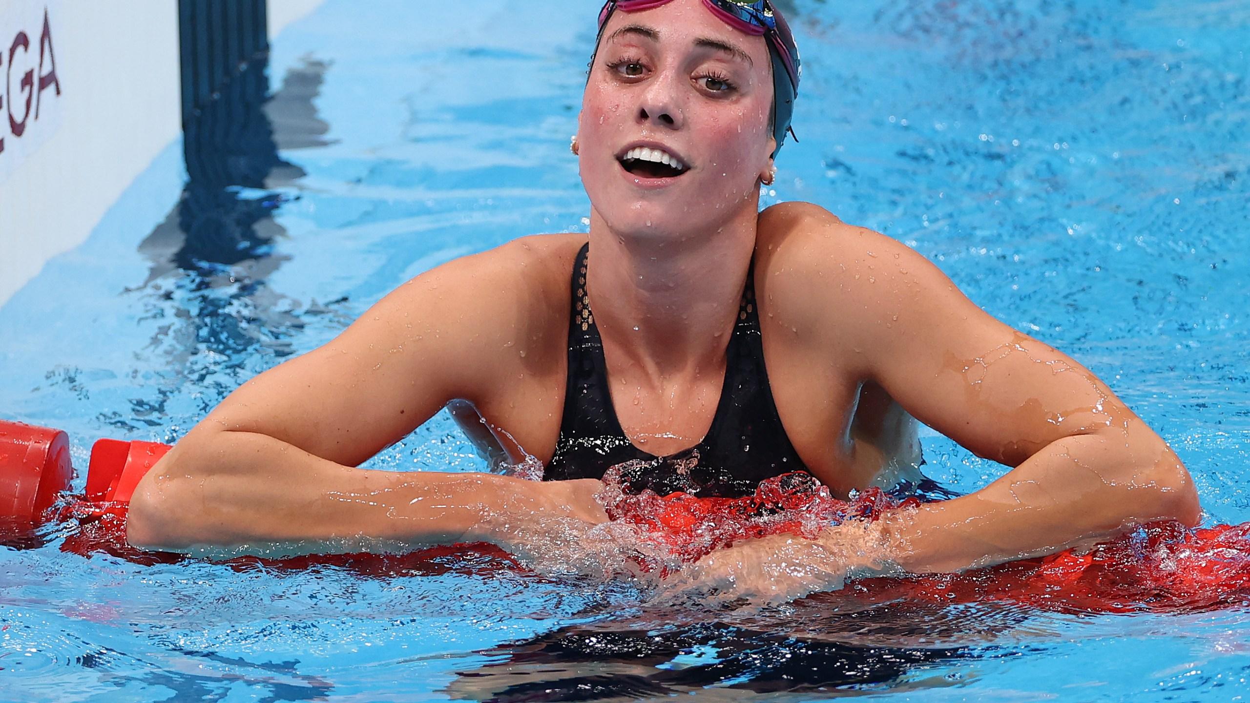 Incoming Uva Freshman Emma Weyant Grabs Silver In Olympic Debut Wfxrtv